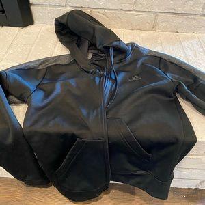 Small Black Adidas Jacket
